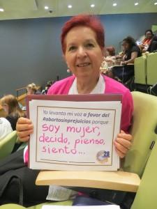 Teresa Lanza, Católicas por el Derecho a Decidir, Bolivia