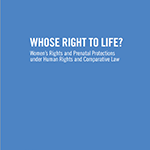CRR righttolife