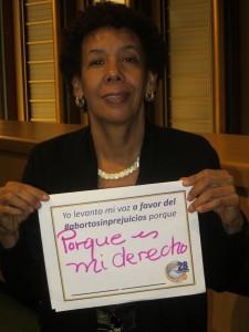 Sergia Galván, Colectiva Mujer y Salud, Dominican Republic