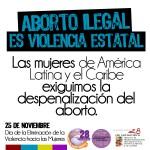 Aborto Ilegal Violencia Estatal 1