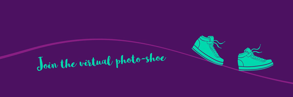 Join the virtual photo shoe banner image