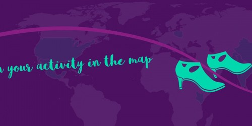 Pin your activity in the map banner image